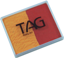 Picture of TAG Golden Orange & Red Split Cake 50g