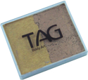 Picture of TAG Pearl Gold & Pearl Old Gold Split Cake 50g