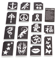 Picture for category Glitter Tattoo Stencils