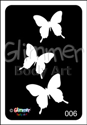 Picture of Cascading Tri-Butterflies  BG-06 - (1pc)