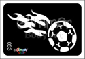 Picture of Soccer Flames MA-53 - (5pc pack)