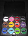 Picture of DFX Regular 12 Colours Palette Set - (12x30G)