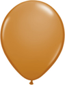"Picture of Qualatex 5"" Round - Mocha Brown (100/bag)"