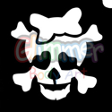 Picture of Cutie Skull Stencil ( 1pc )