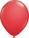 "Picture of Qualatex 11"" Round - Red (100/bag)"