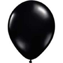"Picture of Qualatex 11"" Round - Onyx Black (100/bag)"