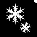 Picture of Twin Snowflake - (5pc pack)