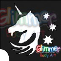 Picture of Enchanted Unicorn - Stencil (5pc pack)