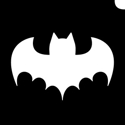 Picture of Single Bat - Stencil (5pc pack)