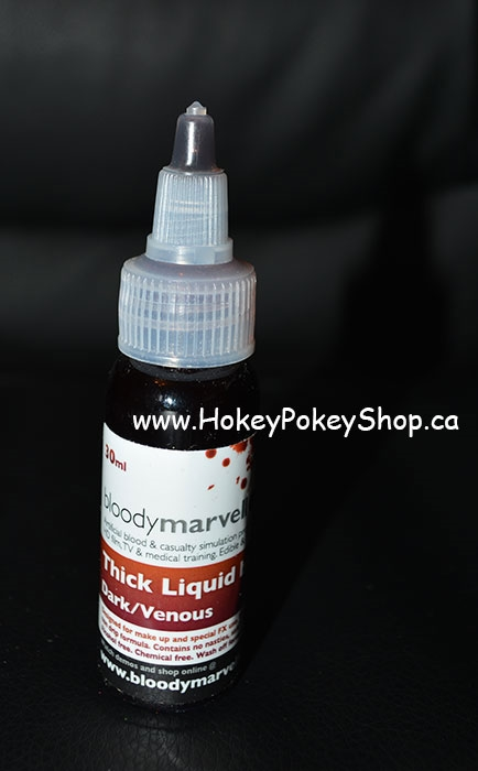 Picture of Bloodymarvellous - Thick Liquid Blood - Dark (30ml)