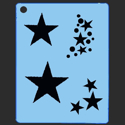 Picture of Star Groupies Stencil - SOBA-21