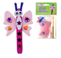 Picture of Krafty Kids Kit: Peg Pals DIY Craft Kits - Butterfly