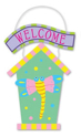 Picture of Foam-Fun Birdhouse - Door Hanger - Dragonfly