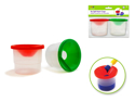 Picture of No Spill Paint Multi-Color Cups (Pack of 2)