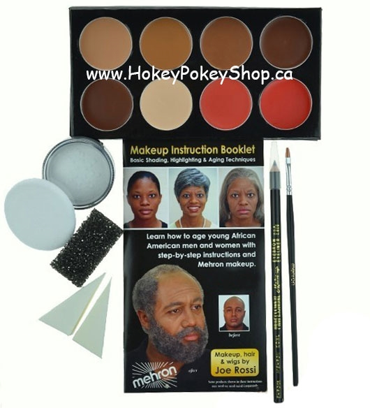 Picture of Mini-Pro Student Makeup Kit - Medium Dark/ Dark
