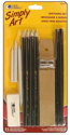 Picture of Loew Cornell Simply Art Sketching Set 12pc