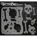 Picture of Tattoo Pro Stencil - Skulls (ATPS-101)