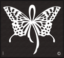 Picture of Essential - HD Stencil - Butterfly Ribbon - AE1 (2pc/pk)