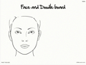 Picture of Wipeable Practice Boards - FAB006 Adult Face & Doodle Board