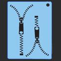 Picture of Zipper Stencil - SOBA-20
