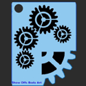 Picture of Gears Stencil - SOBA-34