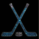Picture of Hockey Stick - Sparkle Stencil