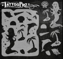 Picture of Tattoo Pro Stencil - Mermaid (ATPS-128)