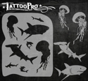Picture of Tattoo Pro Stencil - Shark Attack (ATPS-135)