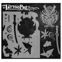 Picture of Tattoo Pro Stencil - Samurai (ATPS125)
