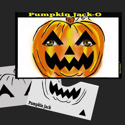 Picture of Pumpkin Jack-O Stencil Eyes - 54SE