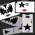 Picture of Rocker 1 & 2 Stencil Eyes - 72/73SE - (8YRS and UP)