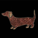 Picture of Wiener Dog - Sparkle Stencil (1pc)