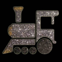 Picture of Train - Sparkle Stencil (1pc)
