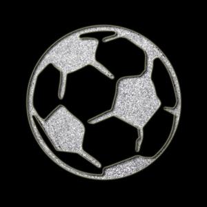 Soccer Ball Sparkle Stencil 1pc Hokey Pokey Shop