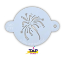 Picture of TAP 077 Face Painting Stencil - Fancy Fireworks