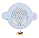 Picture of TAP 069 Face Painting Stencil - Large Christmas Ornament