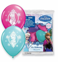 "Picture of 12"" Frozen Assortment 6 count Latex Balloons (6/Bag)"