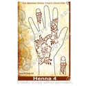 Picture of Henna Stencil 4 - Rose Bud Strip - SOBA