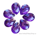 Picture of Teardrop Gems - Purple - 13x18mm (7 pc.) (SG-T4)