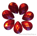 Picture of Teardrop Gems - Red - 13x18mm (7 pc.) (SG-T2)