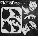 Picture of Tattoo Pro Stencil - Fox & Crow (ATPS-151)