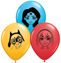 "Picture of 5"" DC Superhero Girls Balloons (100/bag)"