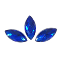 Picture of Pointed Eye Gems - Blue - 7x15mm (15 pc) (SG-PE3)