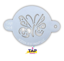 Picture of TAP 064 Face Painting Stencil - Ornate Butterfly