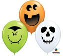 "Picture of 5"" Halloween Faces Assorted (100/bag)"