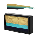 "Picture of Natalee Davies' Collection GOLD EDITION Arty Brush Cake ""Blue Wren"" - 30g"