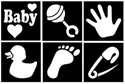 Picture of Baby Stencil Collection (12pc)