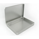 Picture of Empty Metal Tin Case 12 x 9 x 1.75in.