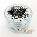 Picture of BIO GLITTER - Biodegradable Glitter - Super Chunky Silver (10g)