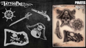 Picture of Tattoo Pro Stencil - Pirates (ATPS165)